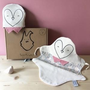 juste-inseparables-doudou-naissance-bebe-coffret-deux-pingouins-rose