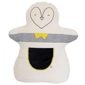 pingouin géant en coton pour décoration chambre enfant