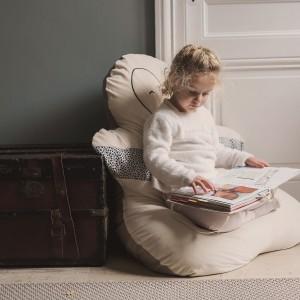 Doudou géant pouf de décoration pour lecture