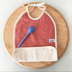 bavoir bébé coton bio et fabrique en France
