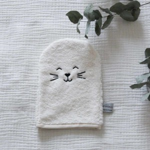 gant de toilette bébé made in france coton biologique