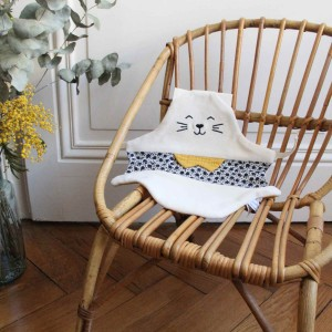 doudou chat tigron made in france