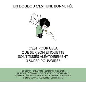 doudou blanc made in france