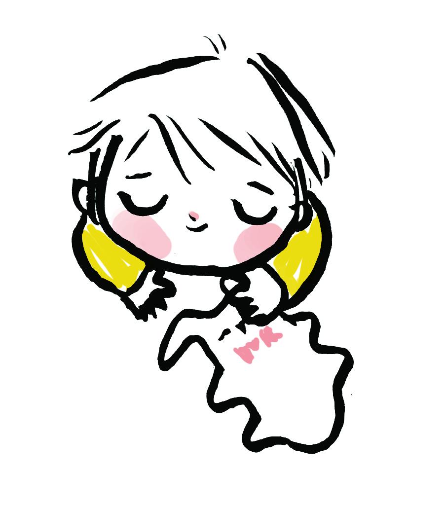 bébé et son doudou plat en coton