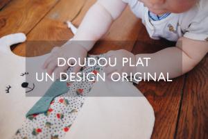 doudou plat, design original