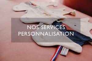personnalisation & option cadeaux