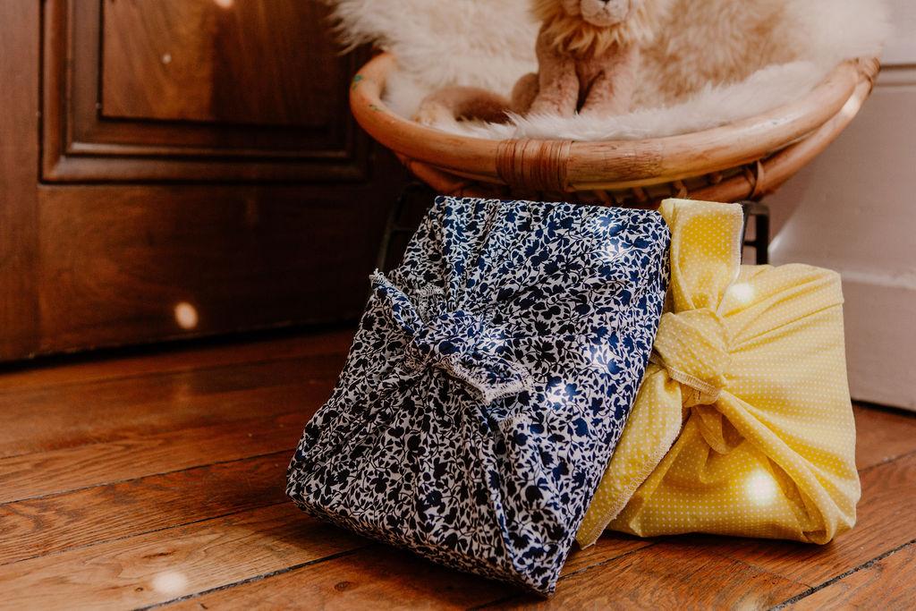 Furoshiki - emballage cadeau en tissu