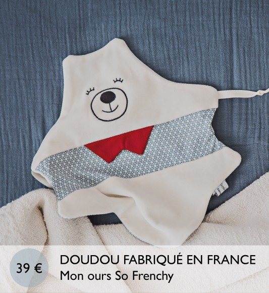 Doudou ours So Frenchy !