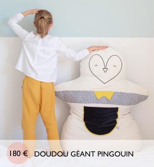 Adoptez un pingouin géant ! 1,20m de pour douceur