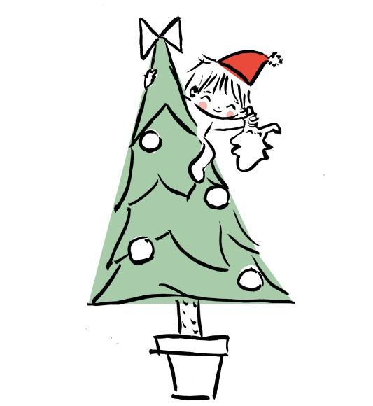 Juste Inséparables vous souhaite un joyeux Noël
